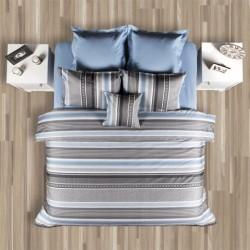 Спален комплект с олекотена завивка - Лазур