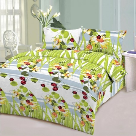 Спален комплект с олекотена завивка - Пчеличка