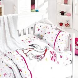 Бебешко спално бельо и одеяло - Щъркел