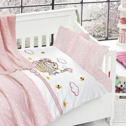 Бебешко спално бельо и одеяло - Котенце
