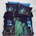 ЗD Спално бельо - Ню Йорк
