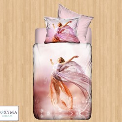 Спално бельо 3D - Pink girl