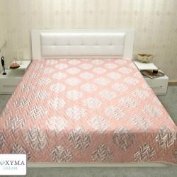 Кувертюра - Бриджит розово и сиво
