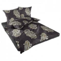 Спално бельо памучен сатен - Казабланка Черно