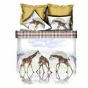 ЗD Спално бельо от бамбук - Жираф