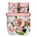 ЗD Спално бельо от бамбук - Розови рози