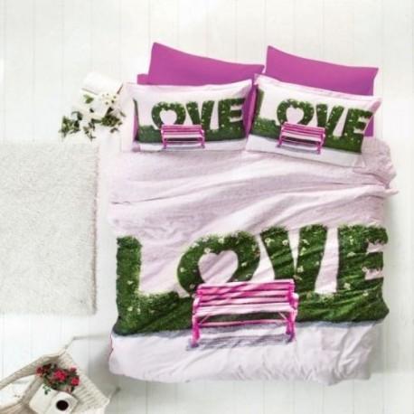 ЗD Спално бельо от бамбук - Love II