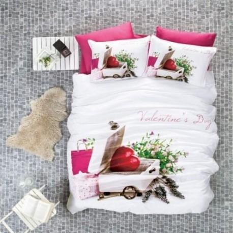 ЗD Спално бельо от бамбук - Valentine