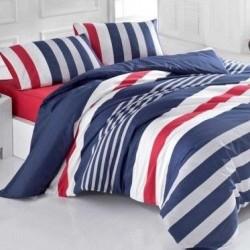 Спално бельо Ранфорс - Stripe