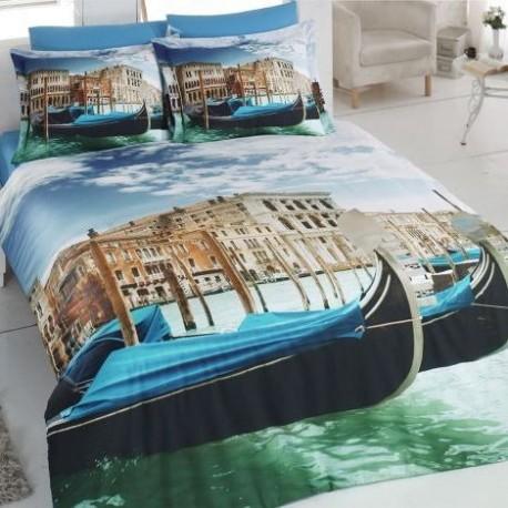 ЗD Спално бельо от Ранфорс хасе - Venecia