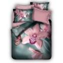 ЗD Спално бельо - Орхидея
