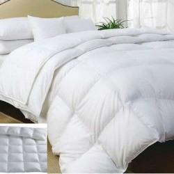 Комплект 2 олекотени завивки + 2 възглавници - 100 % Гъши пух