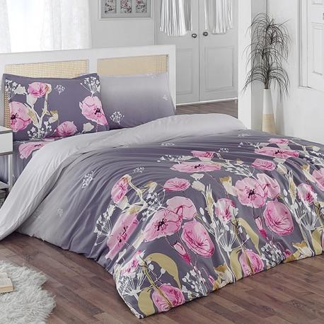 Спално бельо Ранфорс - Флор