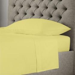 Едноцветно спално бельо - Жълто