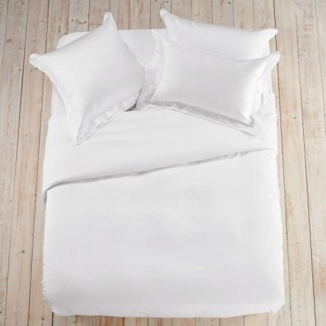 Едноцветно спално бельо - Бяло